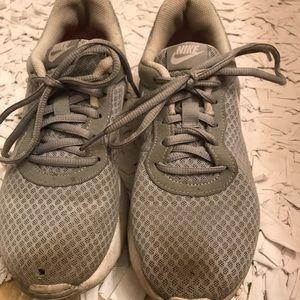 Nike grey shoes